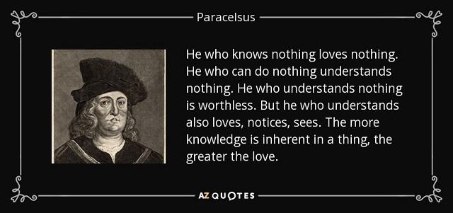 Hiçbir Şeyi Bilmeyen Hiçbir Şeyi Sevmez